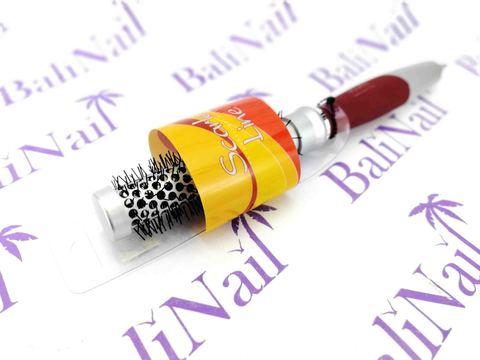 Scarlet Line, Расческа кругая, диаметр 22 мм, с хвостиком для проборов, 90699