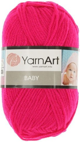Пряжа YARNART BABY № 8041 малина