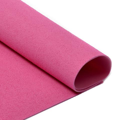 Фоамиран 2мм махровый. Цвет: розовый