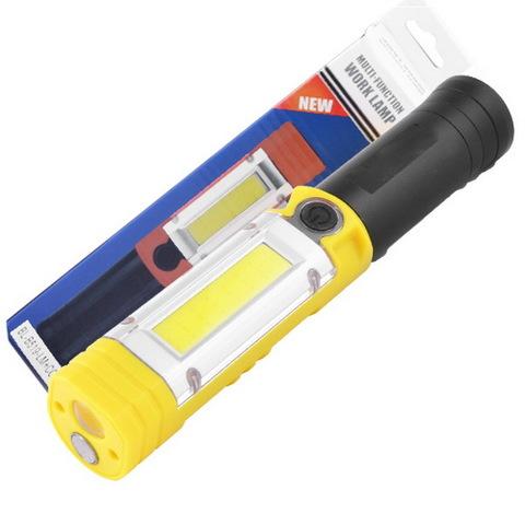 Ф.кемпинговый Police B519-XPE+COB (red), магнит, телескоп, 3xAA