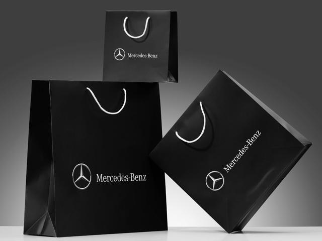 Бумажный пакет Mercedes-Benz (малый)