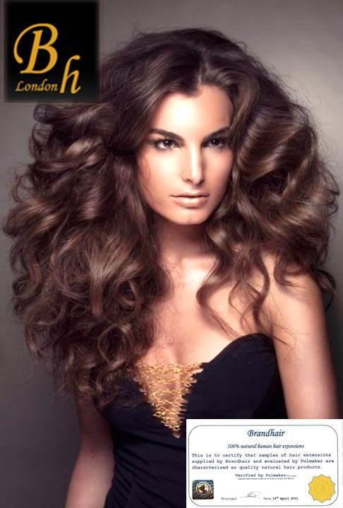 Вьющиеся волосы оттенок 4А-шоколад
