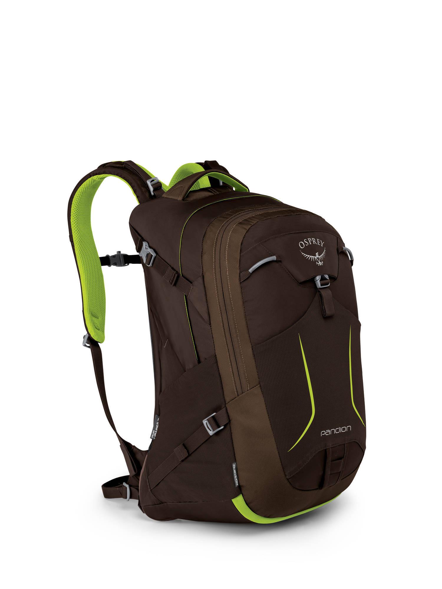Городские рюкзаки Рюкзак городской Osprey Pandion 28 Komodo Green Pandion_F17_Side_Komodo_Green_web.jpg