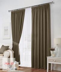 Комплект штор Тоскана (светло-коричневый)