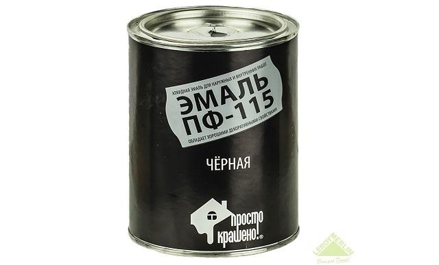ПФ-115 черная НОРМА (2,7кг)