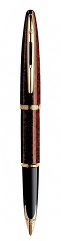 Перьевая ручка Waterman Carene, цвет: Amber, перо: F