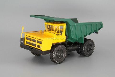 BELAZ-7522 mining truck yellow-green 1:43 Nash Avtoprom