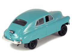 GAZ-M72 turquoise 1:43 DeAgostini Auto Legends USSR #95
