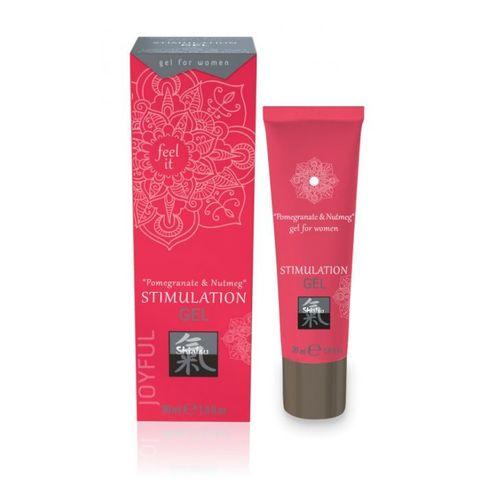 Возбуждающий интимный гель для двоих STIMULATION GEL Pomegranate   Nutmeg - 30 мл.