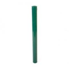 Столб заборный, круглого сечения, d=51мм, 2,5м, зеленый