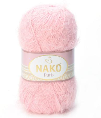 Пряжа Nako Paris 5408 пудра