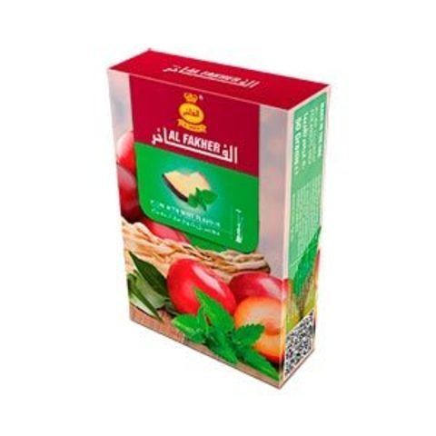 Табак для кальяна Al Fakher Plum With Mint Flavour 50 гр.