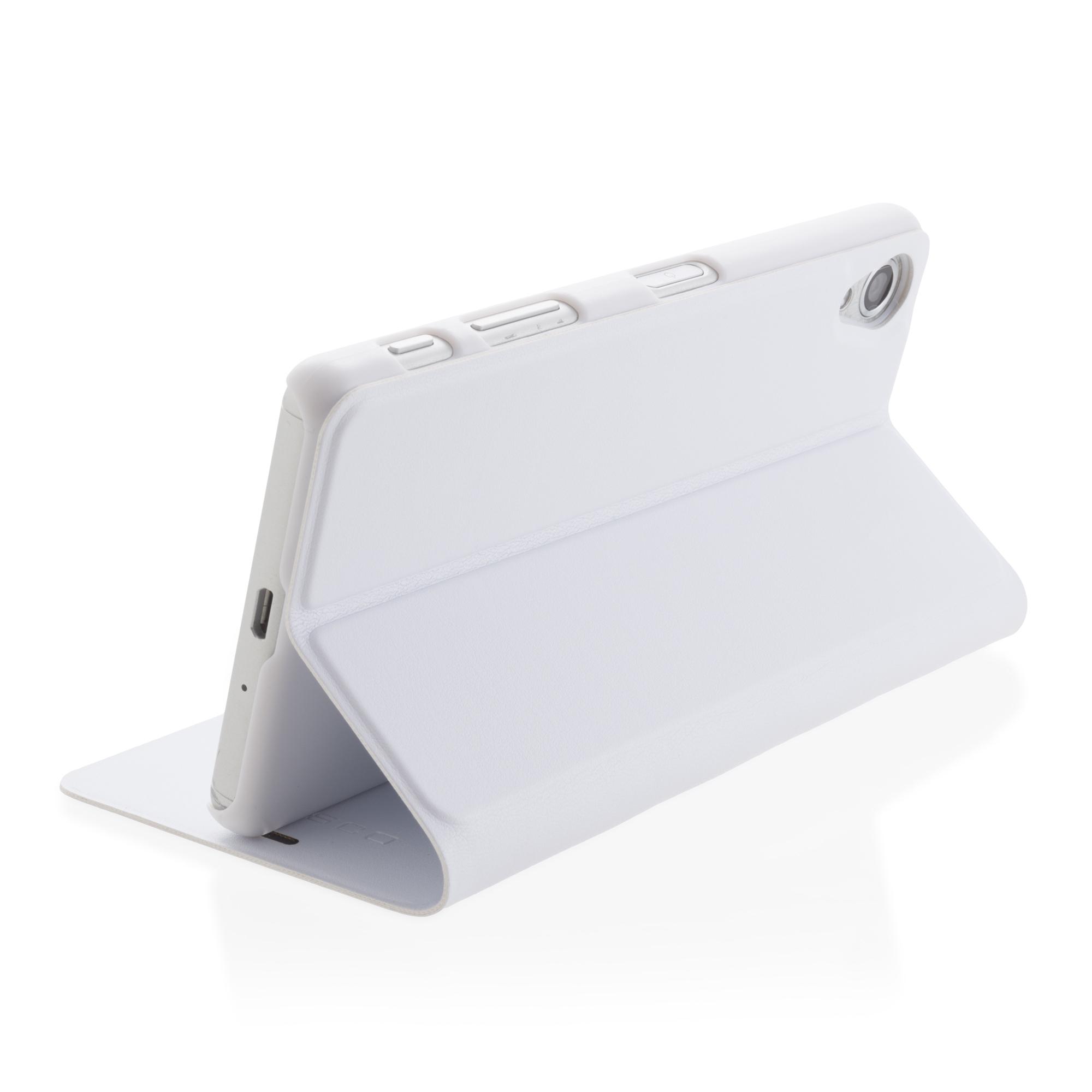 Чехол-книжка белого цвета для Xperia X Performance