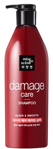 Mise En Scene Damage Care питательный шампунь для поврежденных и окрашенных волос 680мл