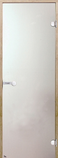 Дверь Harvia STG 7×19 коробка сосна, стекло сатин, фото 1