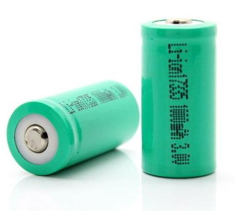 Аккумуляторы 16340 UltraFire 1000mAh, 3V (Li-ion) red (аналог CR123A)
