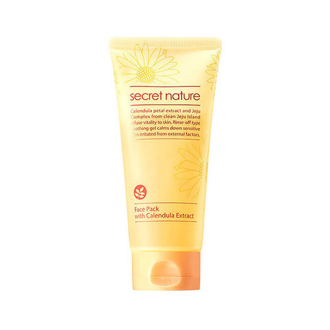 SECRET NATURE FACE PACK WITH CALENDULA EXTRACT