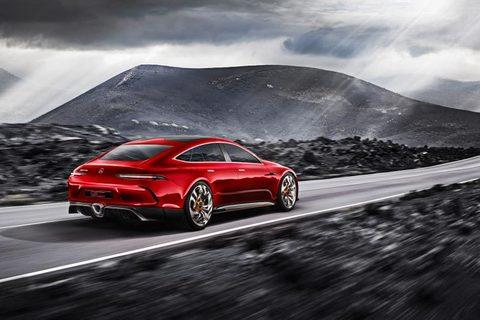 Картина раскраска по номерам 30x40 Красный автомобиль на темном фоне