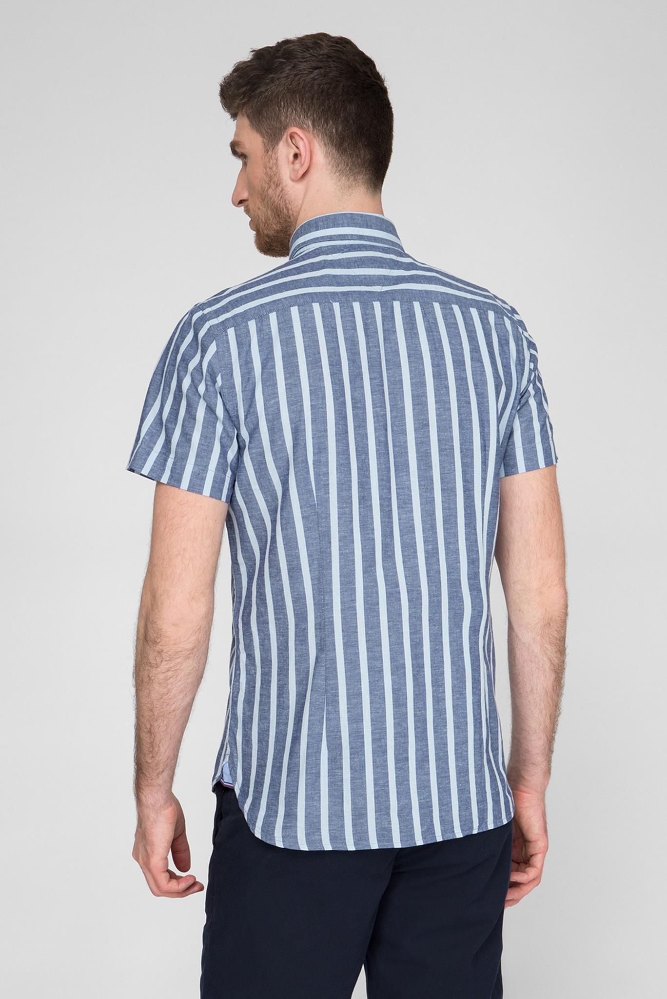 Мужская рубашка в полоску Tommy Hilfiger
