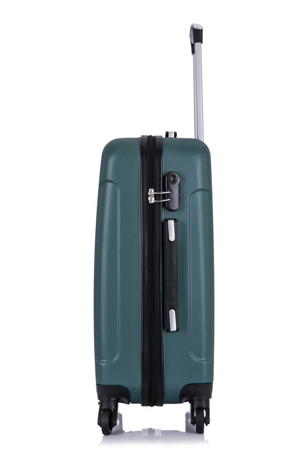 Чемодан со съемными колесами L'case Bangkok-22 Темно-зеленый (M)