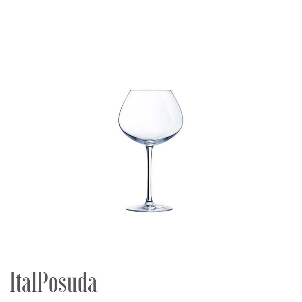Набор бокалов для вина Eclat Cristal d'Arques Wine Emotions Balloon (Вайн Эмоушенс Баллон), 6 шт L7590