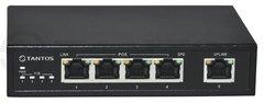 5 портовый гигабитный POE-коммутатор TSn-4P5G