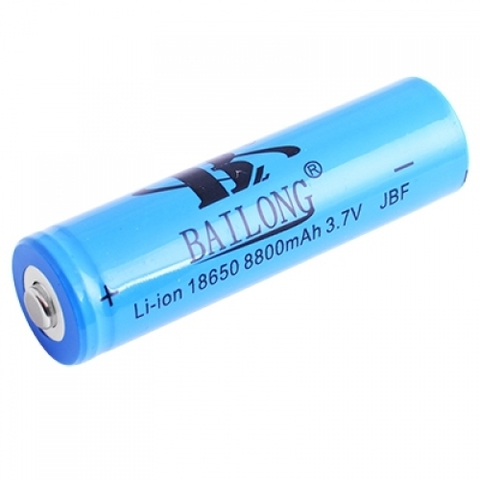 Аккумуляторы 18650 Bailong 5800mAh (Li-ion) blue