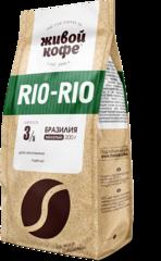 """Кофе молотый """"Живой кофе"""" Рио-Рио 200г"""