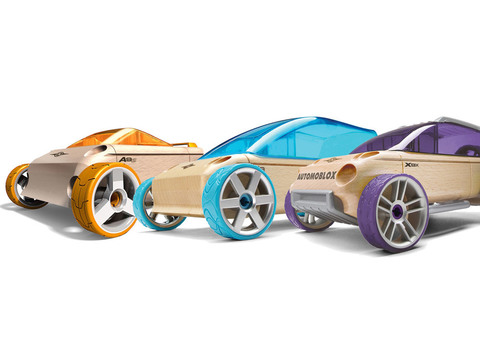 Automoblox. Набор из трех машин