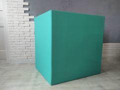 Большая коробка для шаров (бирюзовая) 60*80*80 см.