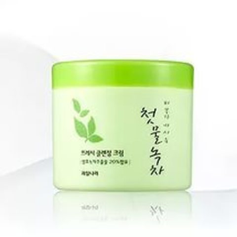 WELCOS Green Tea Крем очищающий Green Tea Fresh Cleansing Cream