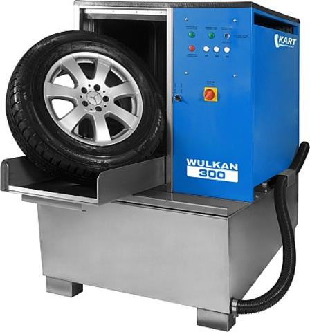 Мойка колес KART Wulkan 300