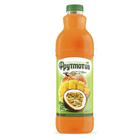 Frutmotiv напиток безалкогольный газированный со вкусом тропический микс 1,5 л.