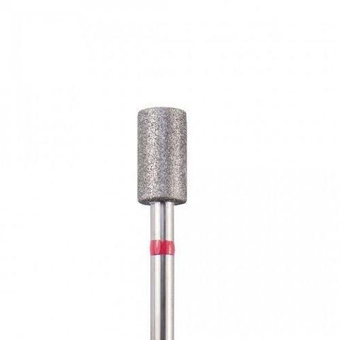 Фреза алмазная Цилиндр, 25 мм, красная