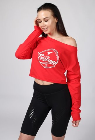 Толстовка Hoodie Forstrong Red