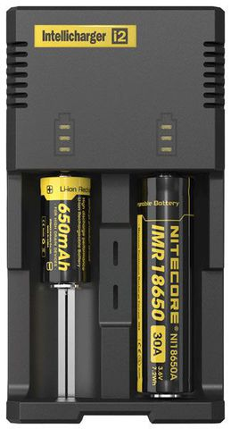 зарядное устройство NiteCore V2 intellicharge i2