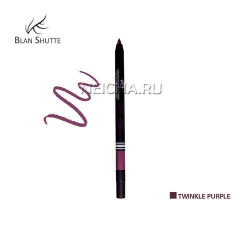 Стойкий гель-карандаш для глаз BS PEARL TWINKLE PURPLE