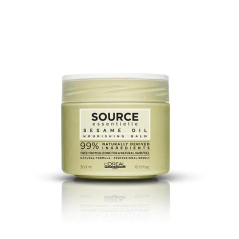 Маска питательная для сухих волос,Loreal Source Essentielle,300 мл.