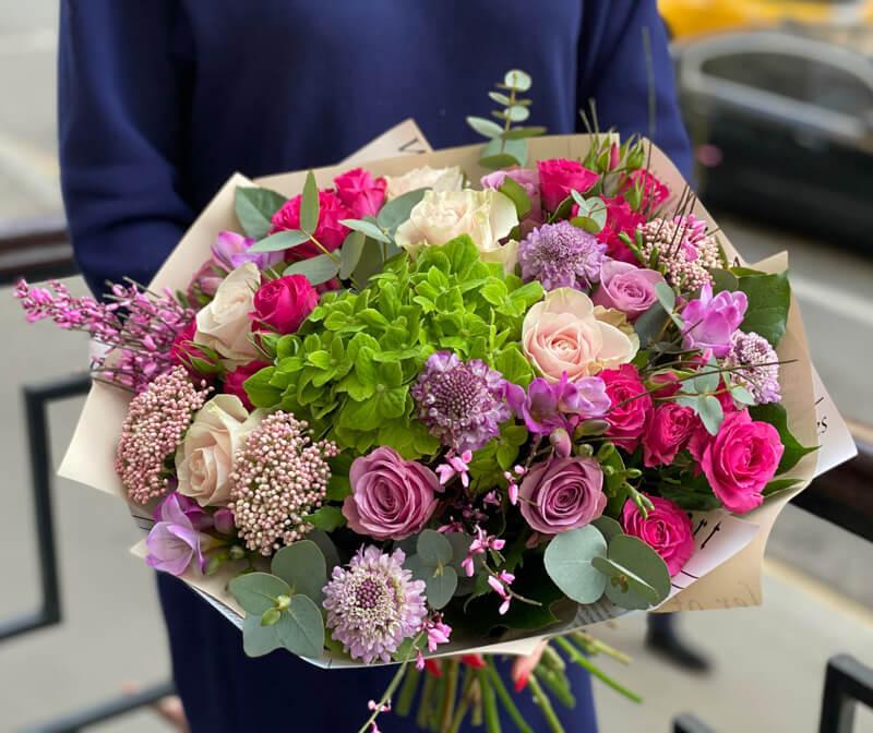 Букет цветов 346