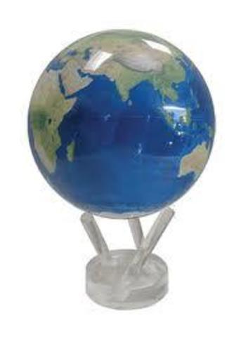 Глобус MOVA GLOBE Планета Земля голубая (12см)123