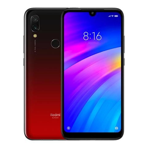 Смартфон Xiaomi Redmi 7 2/16Gb Red EU (Global Version) Черно-Красный