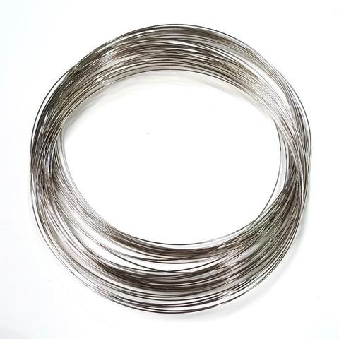 Мемори проволока для колье 0,6 мм 10 витков