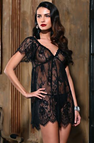 Сорочка женская из кружева MIA-AMORE  Шанель  2024