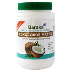 Baraka, Масло кокоса рафинированное, 100% натуральное, 1000мл