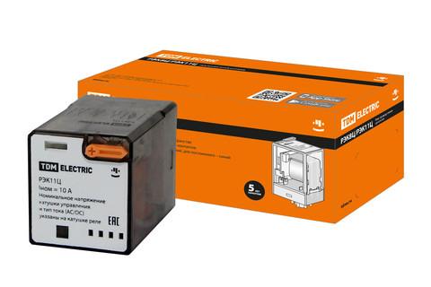 Реле РЭК11Ц/3 10А 230В AC (без разъема Р11Ц арт. SQ1503-0041) TDM
