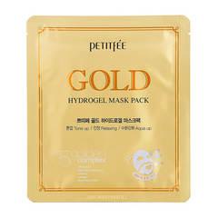 Гидрогелевая маска для лица с коллоидным золотом Petitfee Gold Hydrogel Mask Pack