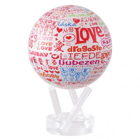 Глобус MOVA GLOBE I love you d12 см123