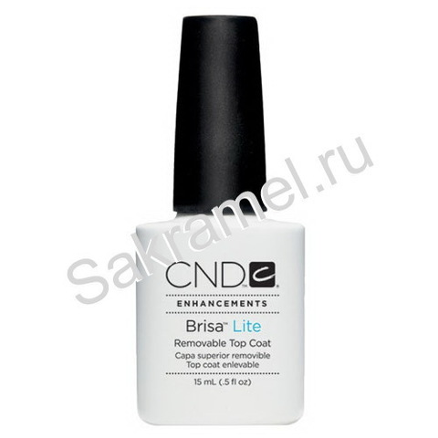 CND Brisa Lite Removable Top Coat 15 ml