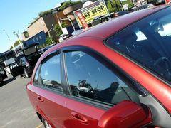 Дефлекторы боковых окон EGR для Chevrolet Lacetti седан (2004-2013) № BRLACETTISSW