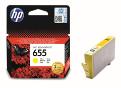 Картридж HP 655 Yellow (CZ112AE)